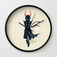 dune Wall Clocks featuring Dune by Freeminds