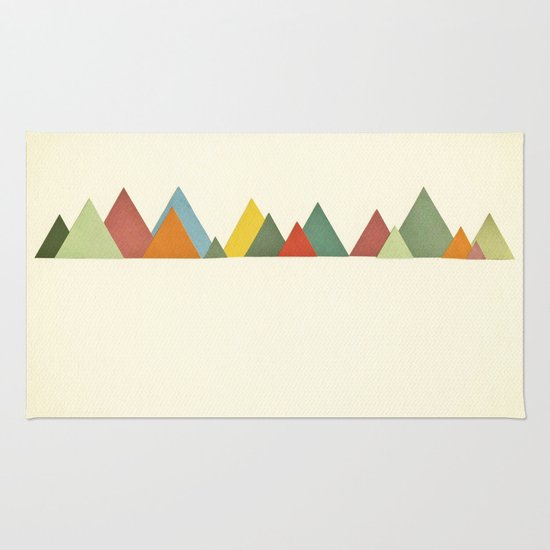 Mountain range Rug