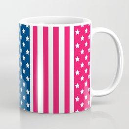 Abstract Patriotic pattern . Coffee Mug