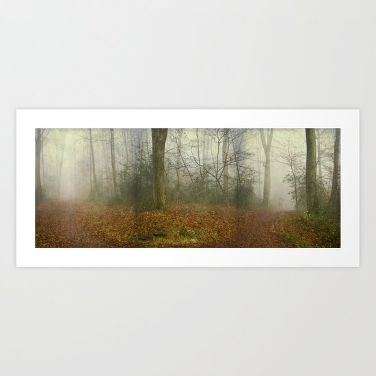 alterNatives - forest panorama Art Print