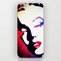 monroe iPhone & iPod Skins featuring monroe  by Joedunnz