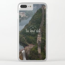 A different view of The Great Wall of China Clear iPhone Case