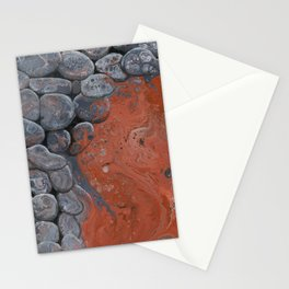 River of Lava Stationery Cards