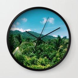 Sierra Nevada in colombian caribbean Wall Clock
