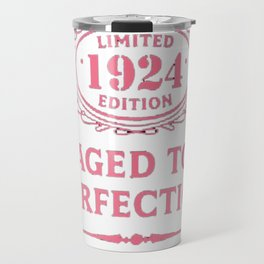 Pink-Vintage-Limited-1924-Edition---93rd-Birthday-Gift Travel Mug