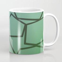 design exotic bio Blocks - green, ethno Coffee Mug