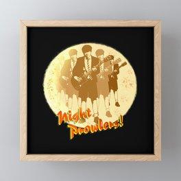 Night Prowlers! Framed Mini Art Print