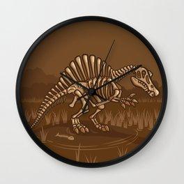Extinct Lil' Spinosaurus Wall Clock