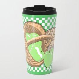 Basket of Granny Smith Apples & Pie Travel Mug