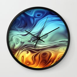 Formula IX Wall Clock