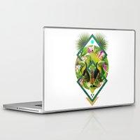 kris tate Laptop & iPad Skins featuring ▲ TROPICANA ▲ by KRIS TATE x BOHEMIAN BLAST by ▲ BOHEMIAN BLAST ▲