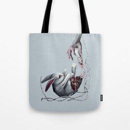 Rabbit  foot Tote Bag