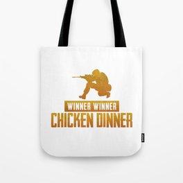 Chicken Dinner - PUBG Tote Bag