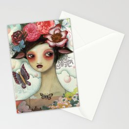 Bathing Beauty by CJ Metzger Stationery Cards