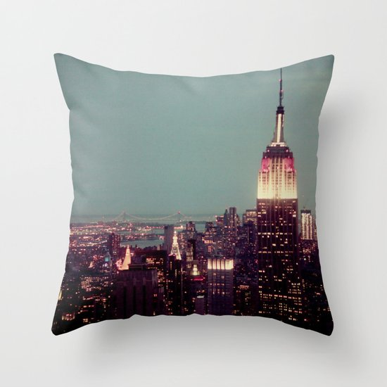 Empire State Throw Pillow