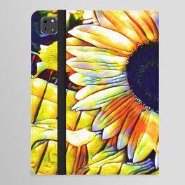 Blushing Sunflower iPad Folio Case
