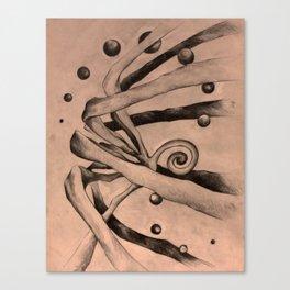 Something Waits Canvas Print