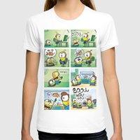 minion T-shirts featuring Minion by Duitk