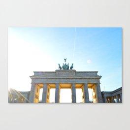 Ich Bin Ein Berliner Canvas Print