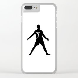 Ronaldo7 Clear iPhone Case