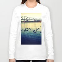 river Long Sleeve T-shirts featuring River by kingseyb