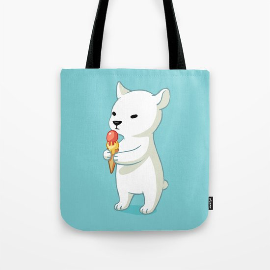Polar Ice Cream Tote Bag