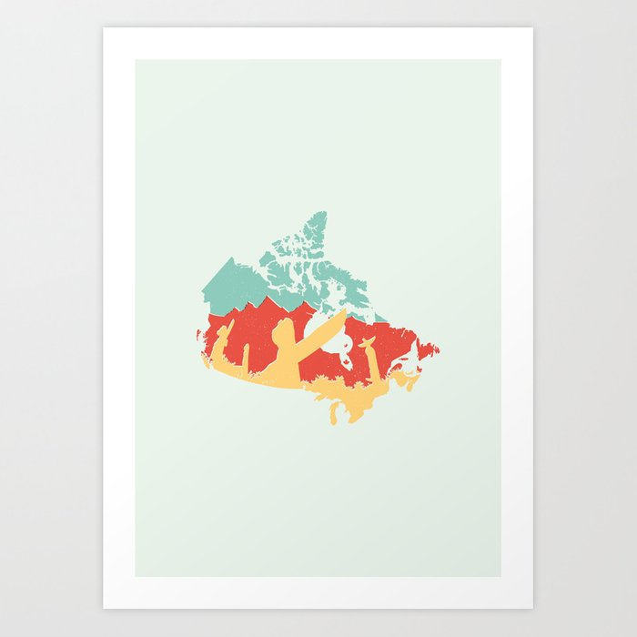 Vancouver - Canada Art Print