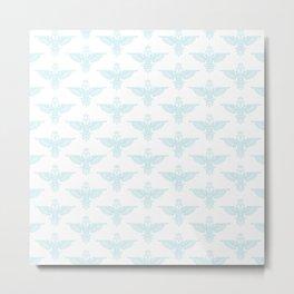 owl pattern 1 Metal Print