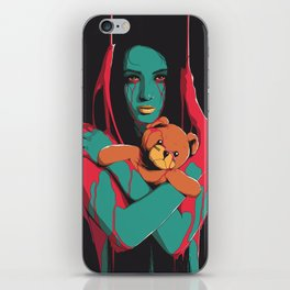 Teddy iPhone Skin