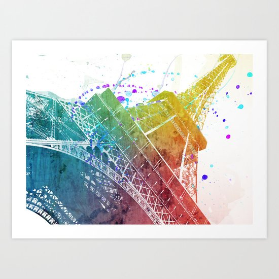 Paris je t´aime.. Art Print