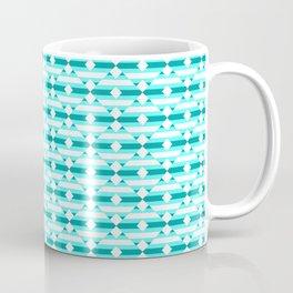 Enchantment, Ice Blue Geometric Coffee Mug