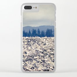 Nahcotta Oysters, Seashells, Landscape, Washington, Northwest Clear iPhone Case