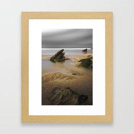 Fistral Beach, Newquay, Cornwall, England United Kingdom Framed Art Print