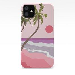 Tropical Landscape 01 iPhone Case