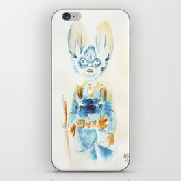 Watercolor Soldier  iPhone Skin