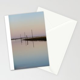 Looking out to Lindisfarne Stationery Cards
