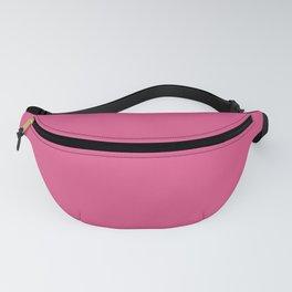 Pink #DE5285 Fanny Pack