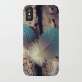Feather blues iPhone Case