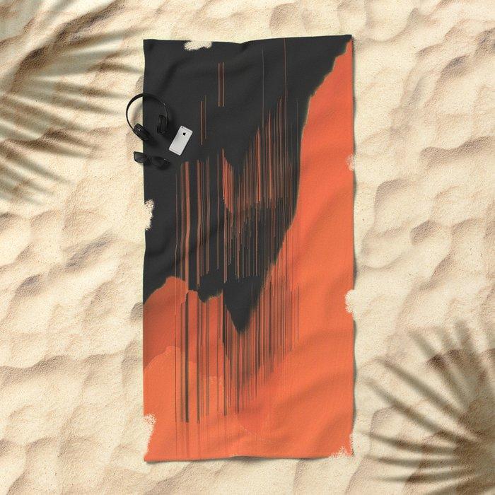 Stalactites Beach Towel