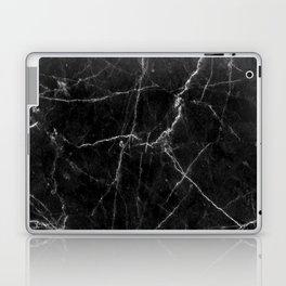 Marble Black Laptop & iPad Skin