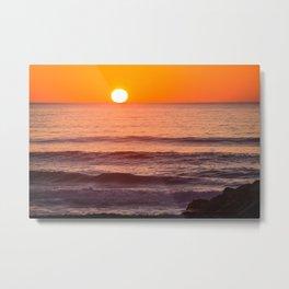 South Ponto Sunset 02 Metal Print