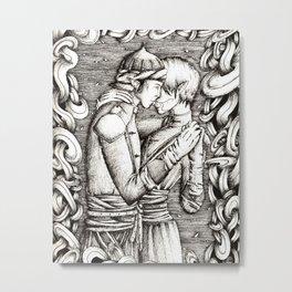 A dance Metal Print