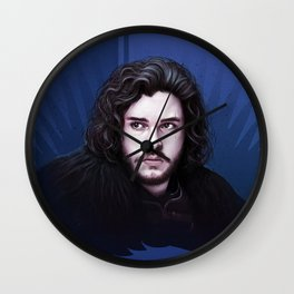The Nightwatch - Game of Thrones by Big Foot Studios Wall Clock