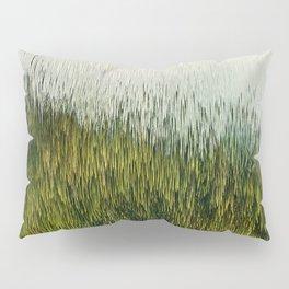 Planet Pixel Mountain Pillow Sham