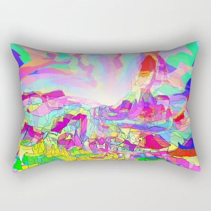 Badlands USA Rectangular Pillow