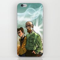 breaking bad iPhone & iPod Skins featuring Breaking Bad by Adrien ADN Noterdaem