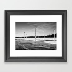 Places Everyone   Framed Art Print