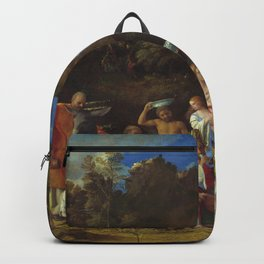 """Giovanni Bellini and Titian """"The Feast of the Gods"""" Backpack"""