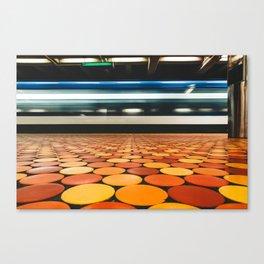 Montreal Subway | Métro de Montréal | Lionel-Groulx Canvas Print
