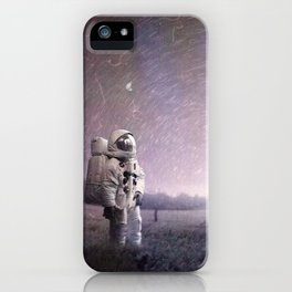 Home Sickness - Return to the Future iPhone Case